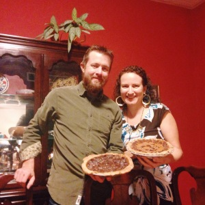 The couple that bakes together...